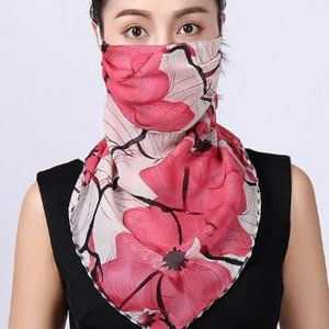 Face Mask Summer  Scarf Neck Mask Sun Protect